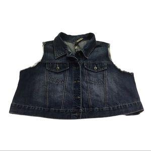 Pennington's 2X Women's Jean Vest